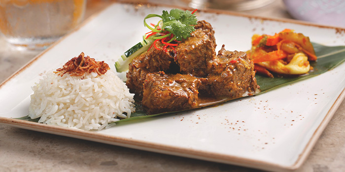 Wagyu Beef Rendang from The Clifford Pier in Fullerton Bay Hotel, Singapore