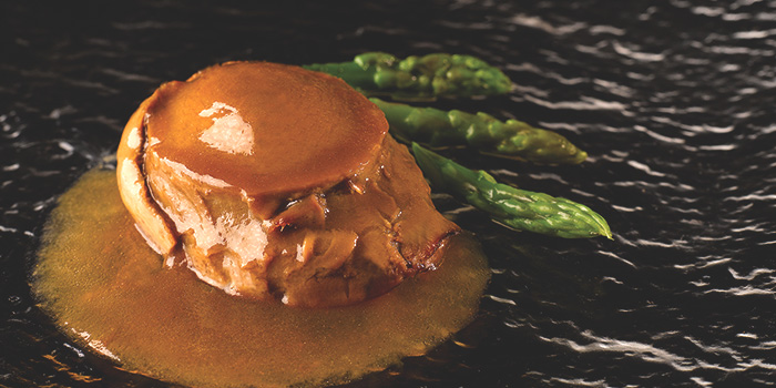 Abalone Set from Tien Court at Copthorne Kings Hotel Singapore in Robertson Quay, Singapore