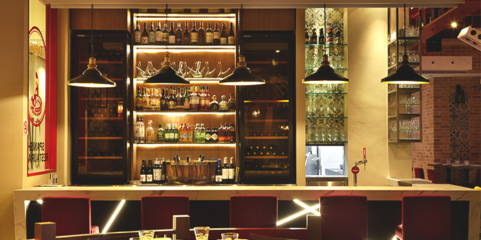 Bar of Tapas Club at Orchard Central in Orchard, Singapore