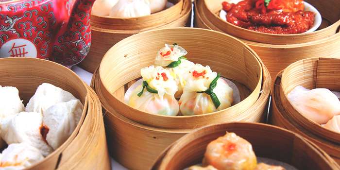 Dim Sum from Tien Court at Copthorne Kings Hotel Singapore in Robertson Quay, Singapore