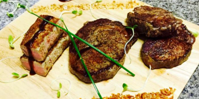 Wagyu Beef Platter with Tuna from Karlsson Restaurant & Steakhouse Karon in Karon, Phuket, Thailand