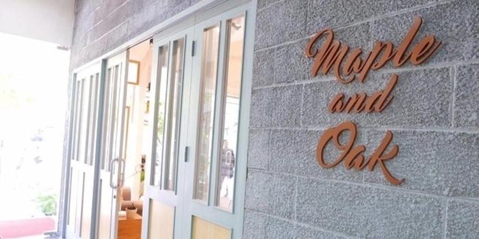 Exterior at Maple & Oak