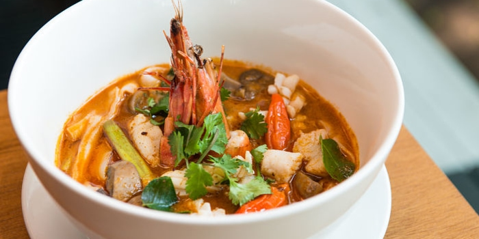 Tom Yam Goong at Cork & Screw Plaza Indonesia, Jakarta