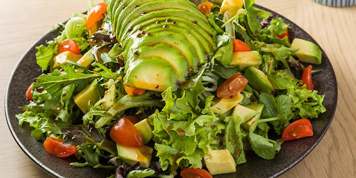 avocado salad, Shoku Japanese Binchotan Grill, Repulse Bay, Hong Kong