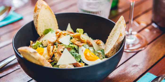 Ceasar Salad from Blue Parrot on Sathorn Road, Bangkok