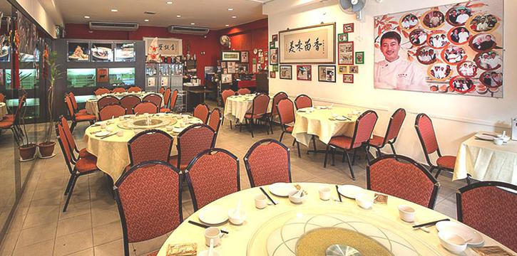 Interior of Tonny Restaurant at Geylang in Kallang, Singapore