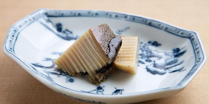 Abalone with Abalone Liver Sauce, Shinji by Kanesaka, Coloane-Taipa, Macau