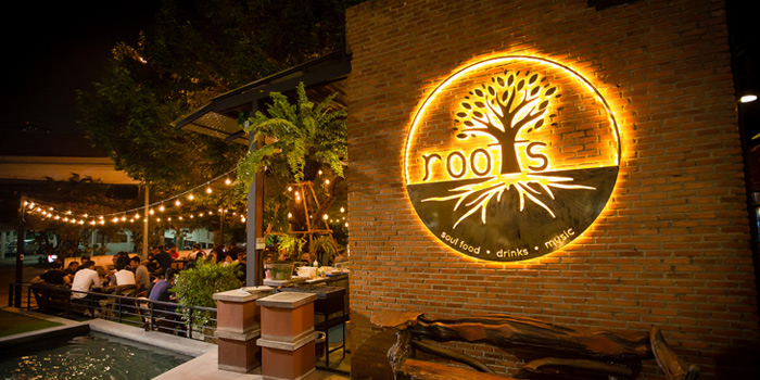 Ambience of Roots - Bangkok at K- Village, Bangkok