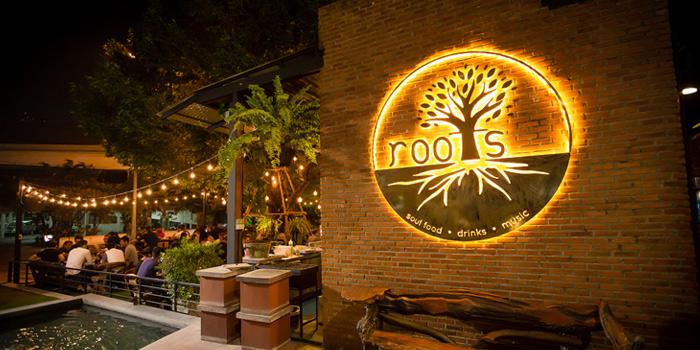 Ambience of Roots - Bangkok at K- Village, Bangkok