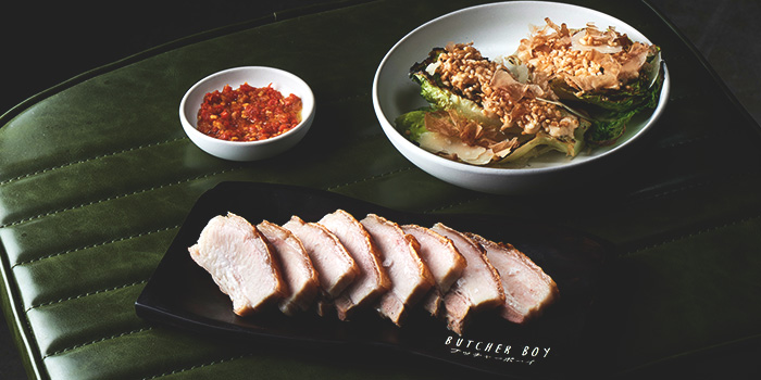 Crispy Pork Belly from Butcher Boy in Keong Saik, Singapore