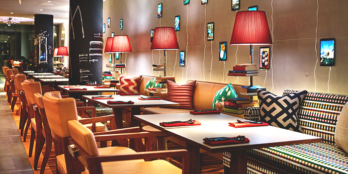 Interior of Beast & Butterflies at M Social Singapore in Robertson Quay, Singapore