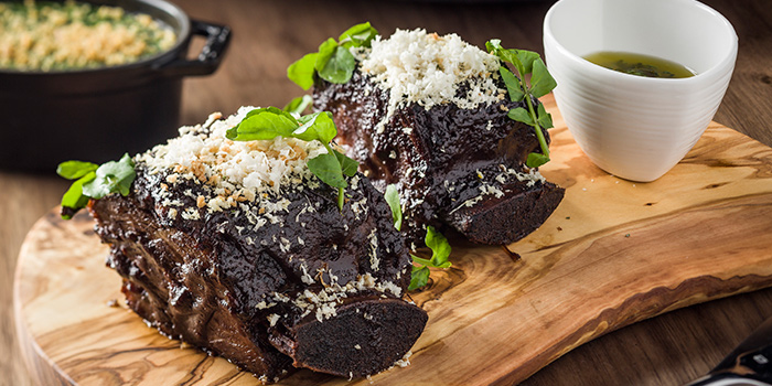 Black Garlic Charred Short Ribs, BLT Steak, Tsim Sha Tsui, Hong Kong