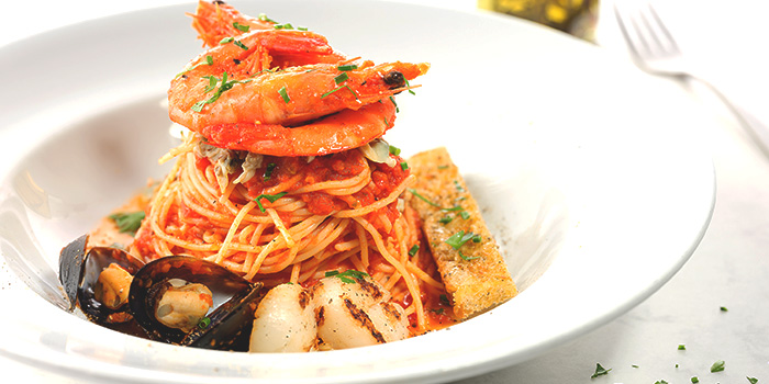 Seafood Marinara from Café Mosaic at Carlton Hotel in City Hall, Singapore