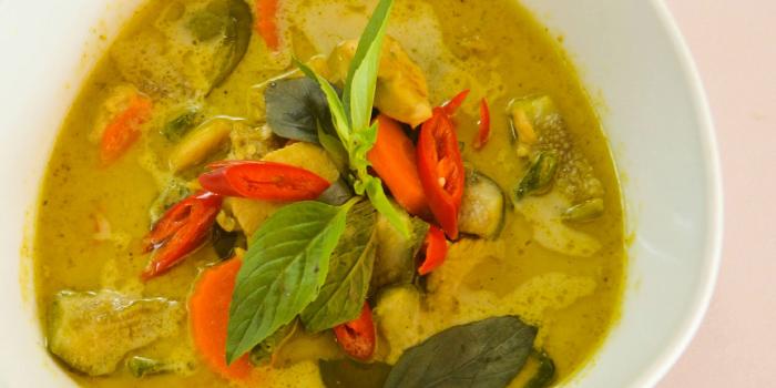 Chicken Green Curry from Rossovivo Ristorante Italiano E Pizzeria in Rawai, Phuket, Thailand