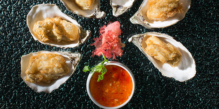 Deep Fried Fine de Claire Oyster, Jade Dragon, Coloane-Taipa, Macau