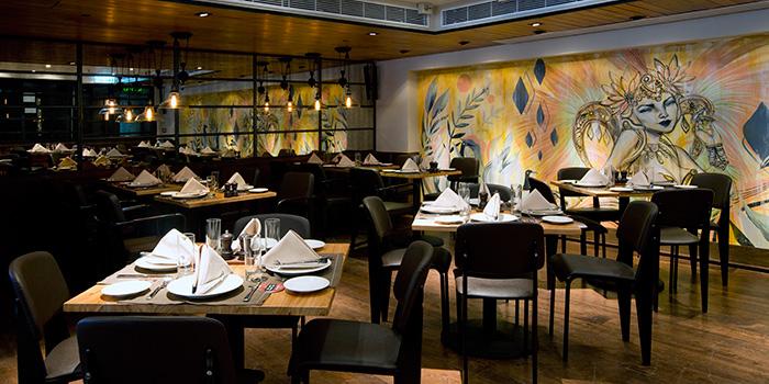 Interior, Braza Churrascaria Brazilian Steakhouse, Central, Hong Kong