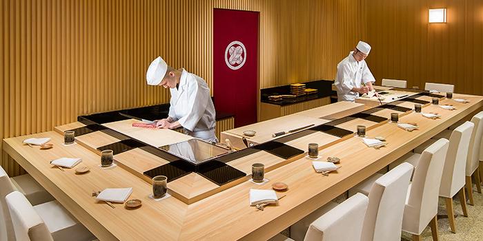 Dining Area, Shinji by Kanesaka, Coloane-Taipa, Macau