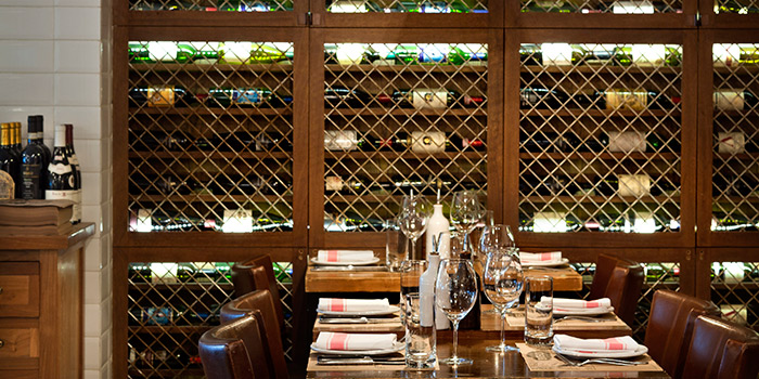 Dining Area, Bistecca Italian Steak House, Central, Hong Kong