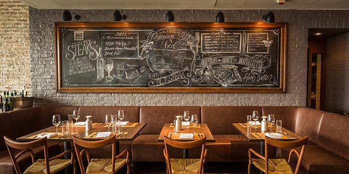Dining Area, BLT Steak, Tsim Sha Tsui, Hong Kong
