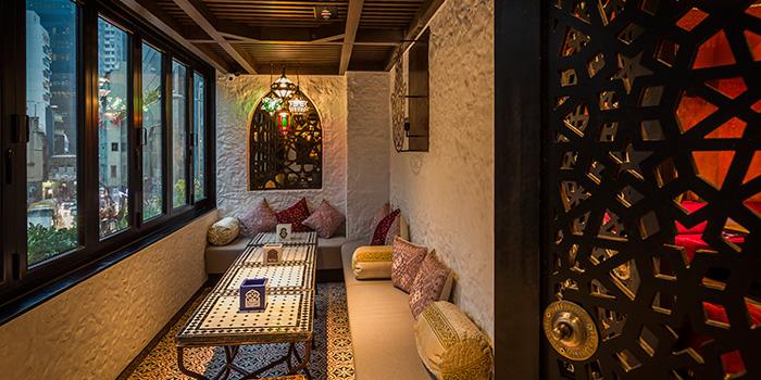 Dining Area, Lilya Moroccan Lounge & Bar, Central, Hong Kong
