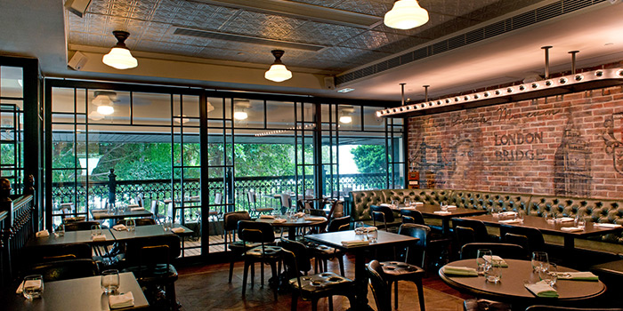 Dining Area, London House Gordon Ramsay, Tsim Sha Tsui, Hong Kong