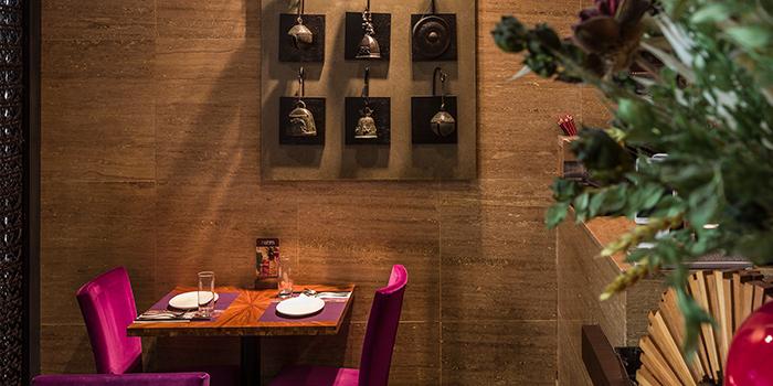 Dining Area, Nahm Vietnamese & Thai, Tsim Sha Tsui, Hong Kong