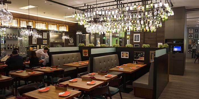 Dining Area, GOCHISO, Tsim Sha Tsui, Hong Kong