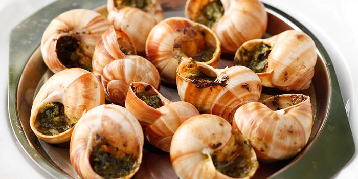Escargots de Bourgogne, Bouchon Bistro Francais, Soho, Central, Hong Kong