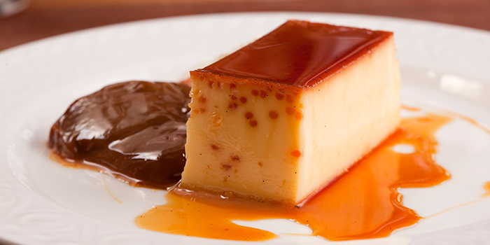 Flan de Leche, Tango Argentinian Steak House, Central, Hong Kong