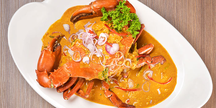 Chili Crab from Thai Wok Restaurant in Orchard, Singapore