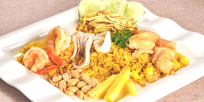 Pineapple Rice from Thai Wok Restaurant in Orchard, Singapore