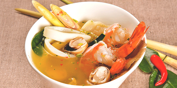 Shrimp Tom Yum from Thai Wok Restaurant in Orchard, Singapore