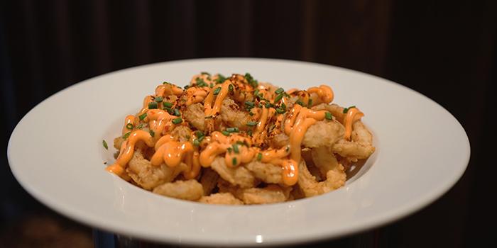 Greek Fried Calamari with harissa mayonnaise, OLIVE Greek & Middle Eastern, Soho, Central, Hong Kong