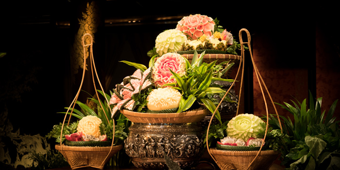 Hand Crafted Fruits from Sala Rim Naam at Mandarin Oriental, Bangkok