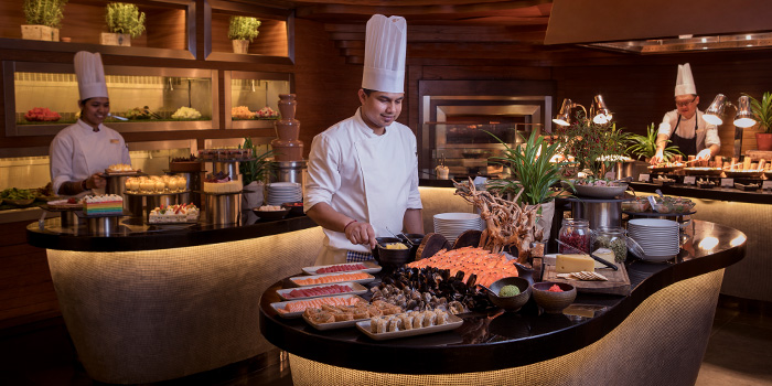 Live Carving Station from Hilton Singapore Weekday Lunch Buffet Pop-up along Orchard Road, Singapore