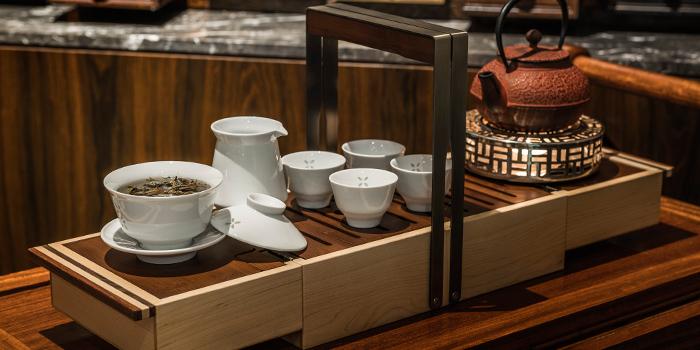 Premium Tea Service from Jiang-Nan Chun Restaurant at Four Seasons Hotel Singapore in Tanglin, Singapore
