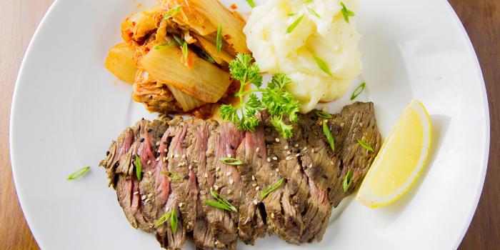 Kalbi-Hangar-Steak from Sea Truffles Seafood Bar at The Opus Building, Bangkok