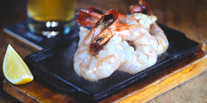 Sizzler Prawns from LeVeL33 in Marina Bay Financial Centre in Marina Bay, Singapore