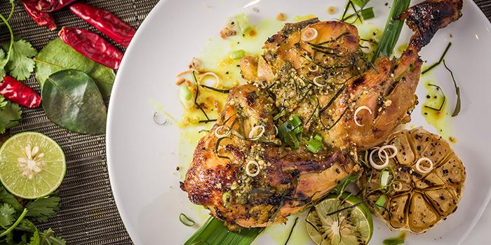 Lemongrass Grilled Chicken, Soho Spice, Central, Hong Kong