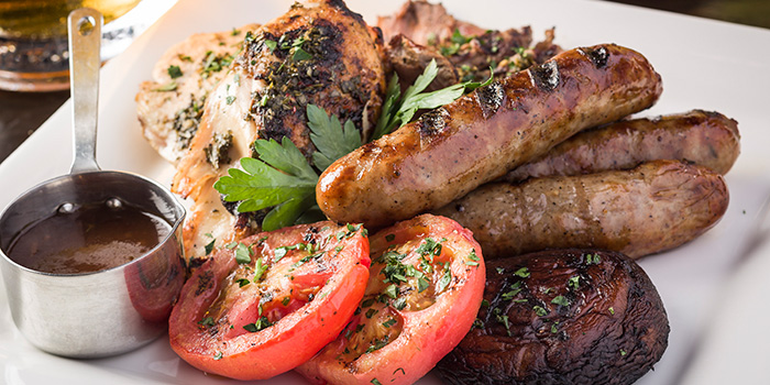 London House Mix Grill, London House Gordon Ramsay, Tsim Sha Tsui, Hong Kong