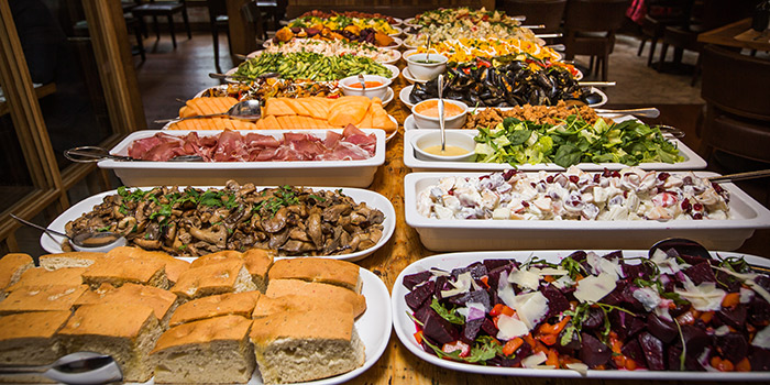 Lunch Buffet, Bistecca Italian Steak House, Central, Hong Kong