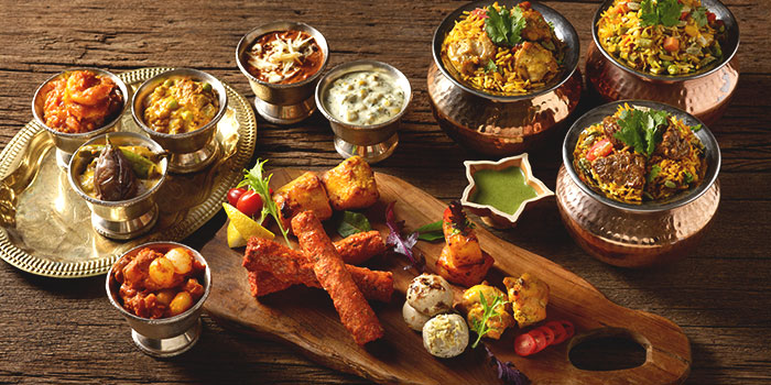 Lunch & Dinner Spread from Tandoor in Holiday Inn Singapore Orchard City Centre in Orchard, Singapore