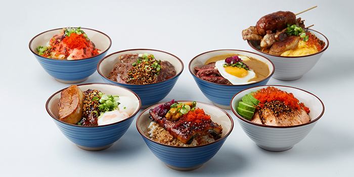 Signature Dinner Bowls from MOJO at Telok Ayer in Raffles Place, Singapore