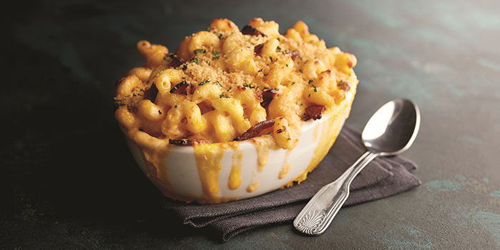 Bacon & Onion Macaroni & Cheese from Morton