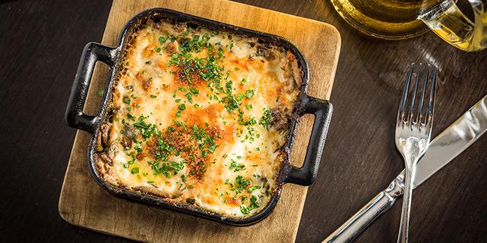 Mushroom & leek lasagna, London House Gordon Ramsay, Tsim Sha Tsui, Hong Kong