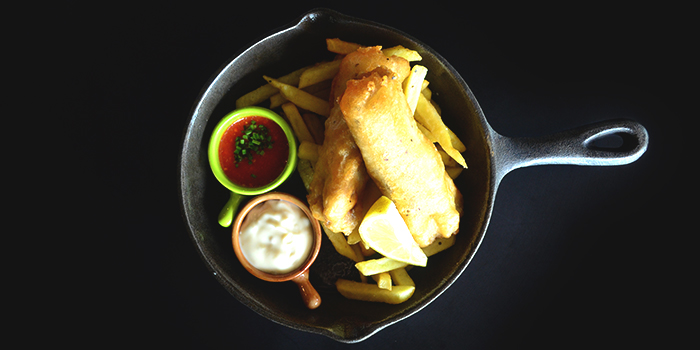 Fish & Chips from Oyster Co. (Magazine Road) at Central Mall in Clarke Quay, Singapore