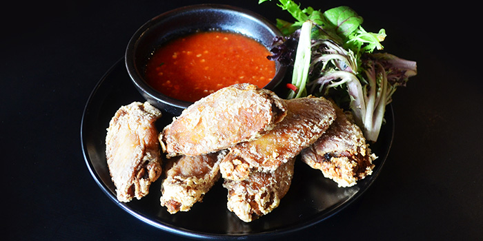 Local Style Wings from Oyster Co. (Magazine Road) at Central Mall in Clarke Quay, Singapore