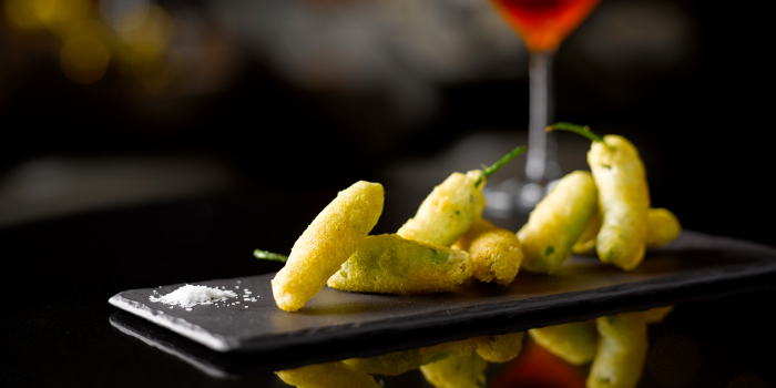 Shisito Peppers from One-Ninety Bar at Four Seasons Hotel Singapore in Orchard Road, Singapore