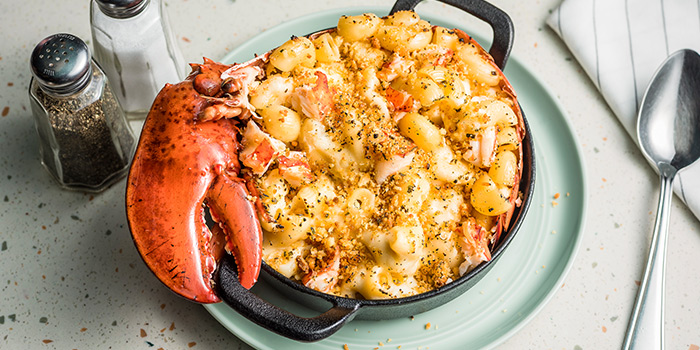 Truffled Lobster Mac & Cheese from OverEasy in Fullerton, Singapore