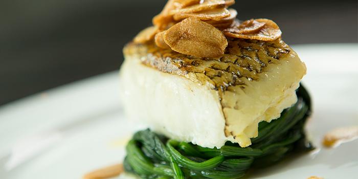 Pan-Fried Chilean Sea Bass Fillet, SPARK Bar & Restaurant, Central, Hong Kong